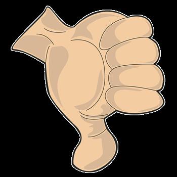 Hand - Thumbs Down
