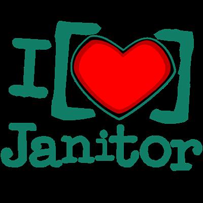 I Heart Janitor