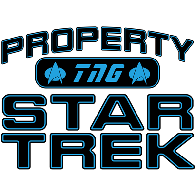 Blue Property Star Trek - TNG