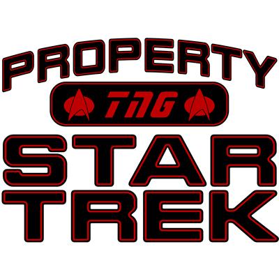 Red Property Star Trek - TNG