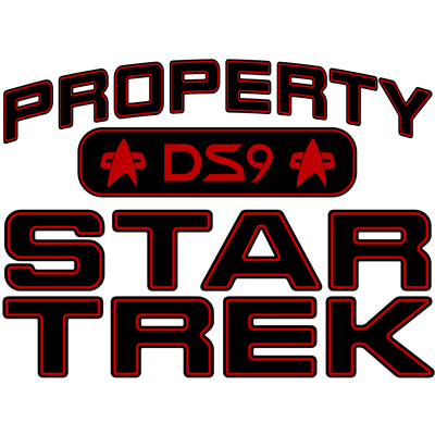 Red Property Star Trek - DS9