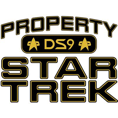 Gold Property Star Trek - DS9