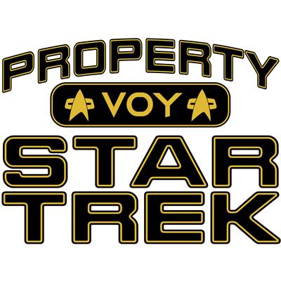 Gold Property Star Trek - VOY