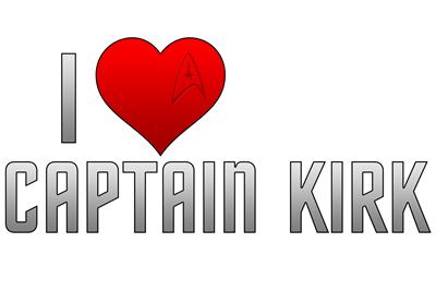 I Heart Captain Kirk