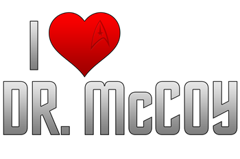 I Heart Dr. McCoy