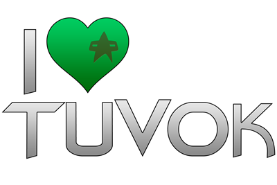 I Heart Tuvok - Green Heart
