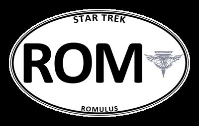 Star Trek: Romulus White Oval
