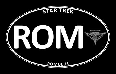 Star Trek: Romulus Black Oval
