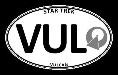 Star Trek: Vulcan White Oval