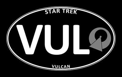 Star Trek: Vulcan Black Oval