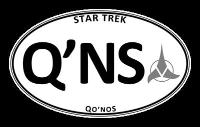 Star Trek: Qo'noS White Oval