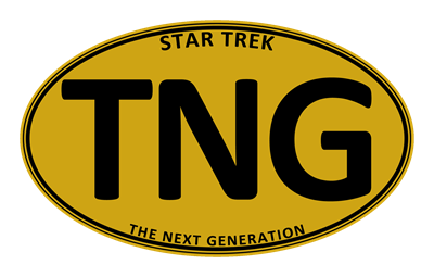Star Trek: TNG Gold Oval