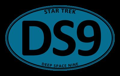 Star Trek: DS9 Blue Oval
