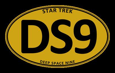 Star Trek: DS9 Gold Oval