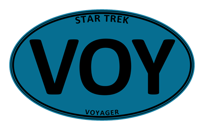Star Trek: VOY Blue Oval