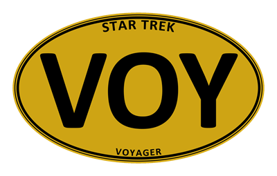 Star Trek: VOY Gold Oval