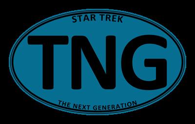 Star Trek: TNG Blue Oval