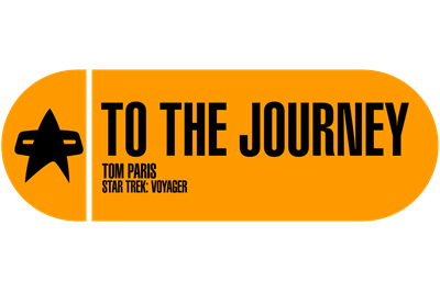 To the Journey - Star Trek Quote