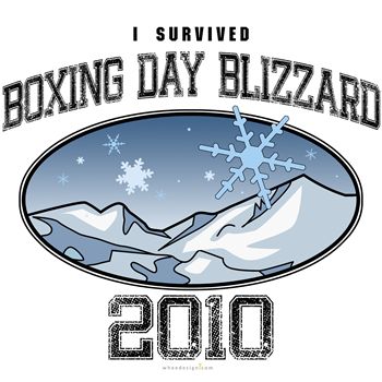 I Survived Boxing Day Blizzard 2010