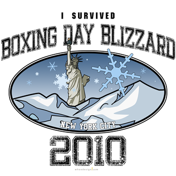 I Survived Boxing Day Blizzard 2010 - New York Cit