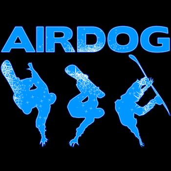 Blue Snowboard Airdog