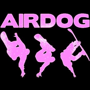 Pink Snowboard Airdog