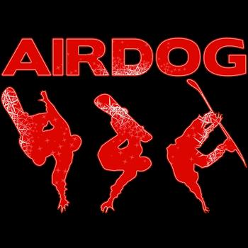Red Snowboard Airdog