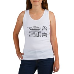 M1-A1 Tanker - Women's Tank Top