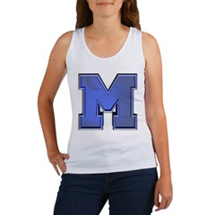 M Go Blue Women's Tank Top