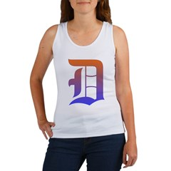 Olde English D Women's + Size Scoop Neck Dark Tee Women's Tank Top