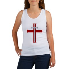 Crusader Sword Women's Tank Top