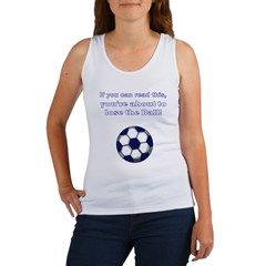 lose_the_ball_black Women's Tank Top