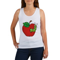 Wormy Apple Women's Tank Top