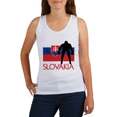 Slovak Hockey Women's Tank Top