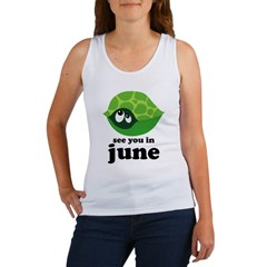 June Baby Due Date Women's Tank Top