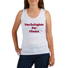 Psychologists For Obama Women's Tank Top