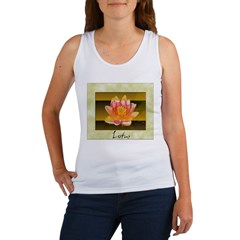 Good Morning Lotus Women's Tank Top