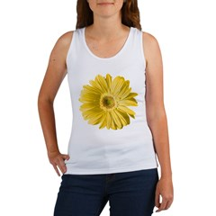 Pop Art Yellow Daisy Women's Tank Top