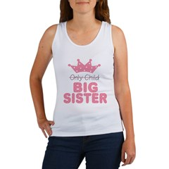 Only Child Big Sister Women's Tank Top