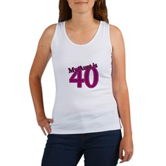Aunt's 40th Birthday Women's Tank Top