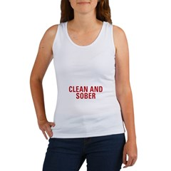 1 Year Clean & Sober Women's Tank Top