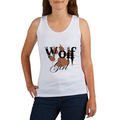Wolf Girl Women's Tank Top