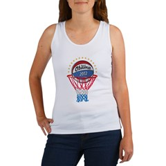 BASKETBALL SHIRT black Women's Tank Top