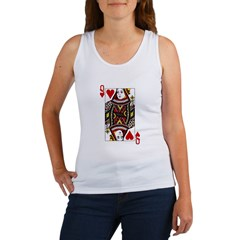 Queen of Hearts Women's Tank Top