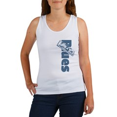 Harmonica Blues Vert. Women's Tank Top