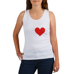 I Heart Volleyball: Women's Tank Top