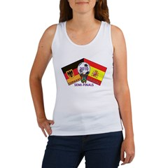 Germany vs. Spain 2010 Soccer Women's Tank Top