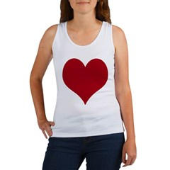 - Heart/Love Design Women's Tank Top