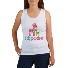 funky giraffe sister no name Women's Tank Top