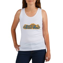 Suns out guns out -- Men Women's Tank Top